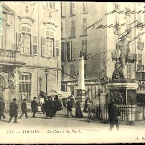 carte postale ancienne Toulon